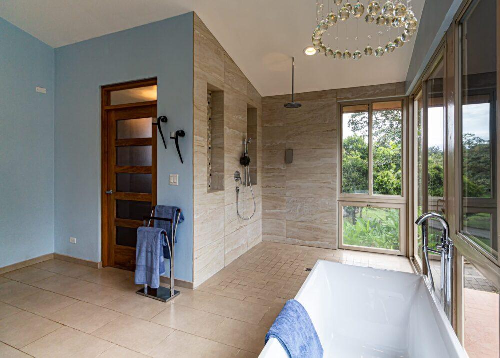 modern bathroom renovations for a large bathroom